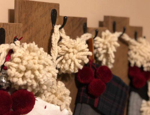 DIY Barnwood Stocking Hanger