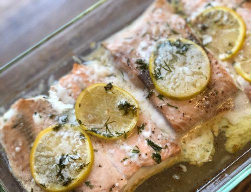 Lemon-butter Salmon